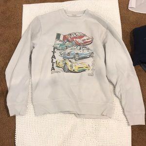 A big white car jacket